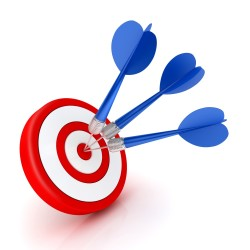 missed bulls eye shutterstock_72637066